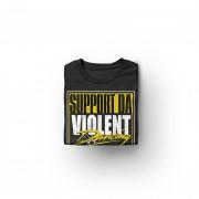 img-support-violent-dancing-tshirt-noir-logo-blanc-jaune-plie