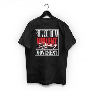 img-support-violent-dancing-tshirt-noir-logo-blanc-rouge